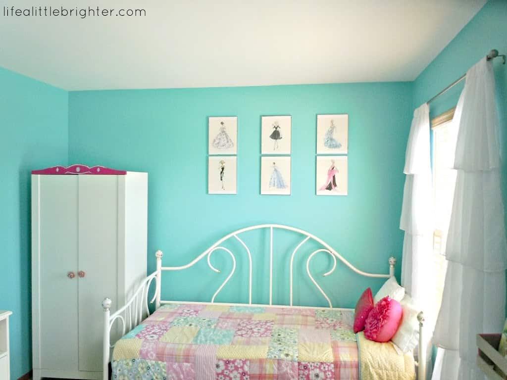 My Daughter 39 s Bedroom Inspired by Pinterest  My Daughter 39 s Bedroom  Inspired by. Pink And Turquoise Bedroom