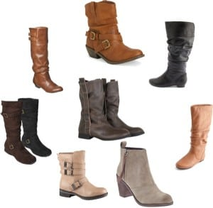 Neutral Winter Boots