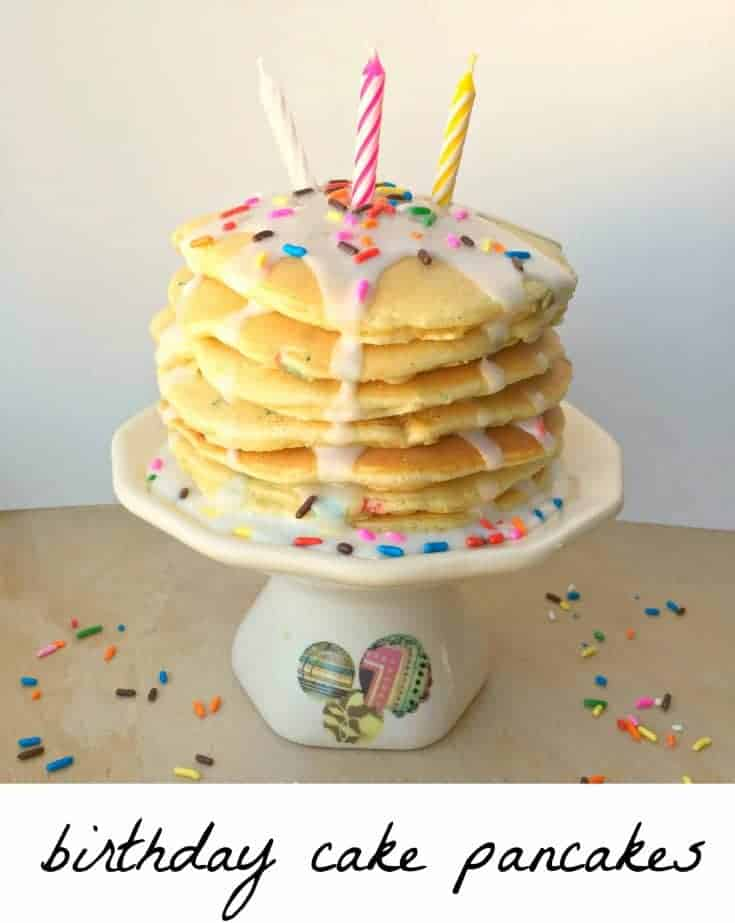 Birthday Cake Pancakes