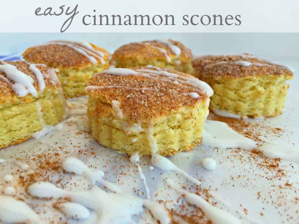 Cinnamon Scones Recipe — Dishmaps