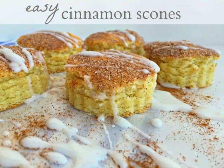 Cinnamon Scones {brunch superstar}