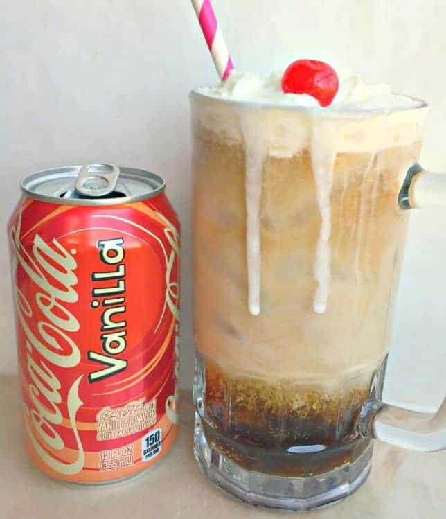 how to make vanilla coke with coke