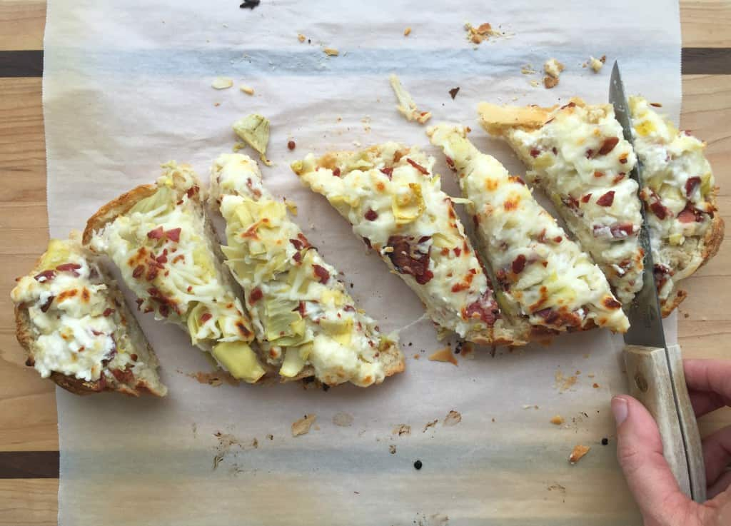 artichoke-french-bread-pizza-5