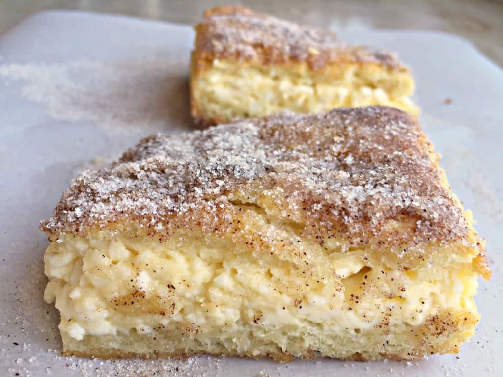 Churro Cheesecake Bars