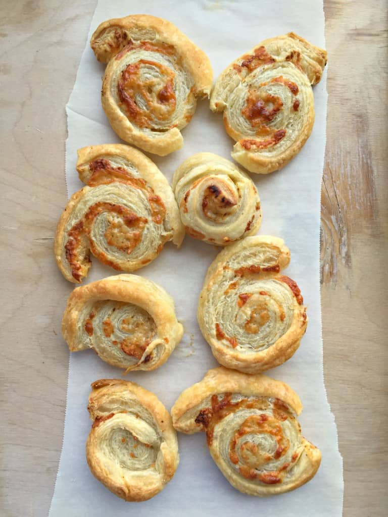 Asparagus Parmigiano Puffs Recipes — Dishmaps