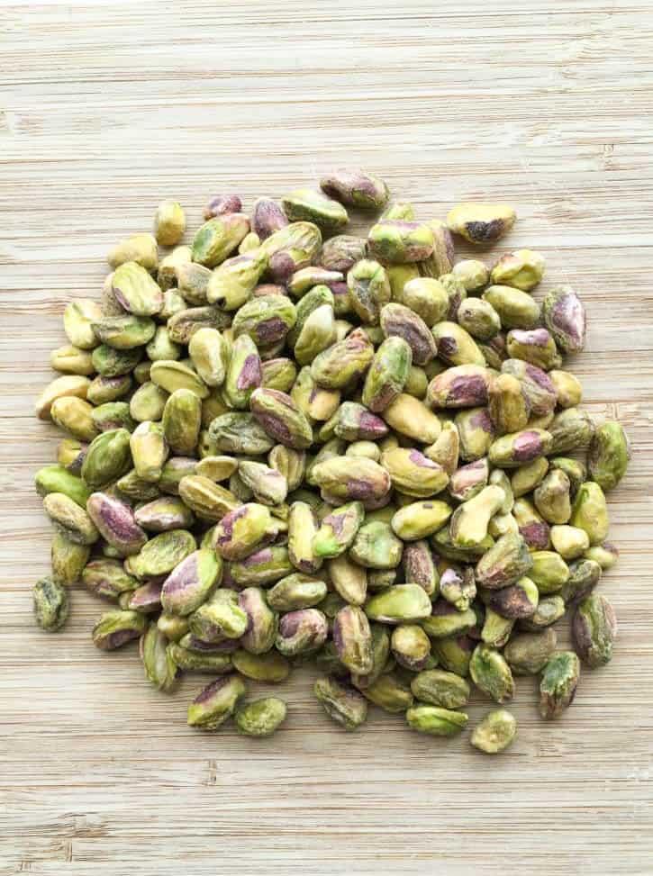 baklava bread pistachios
