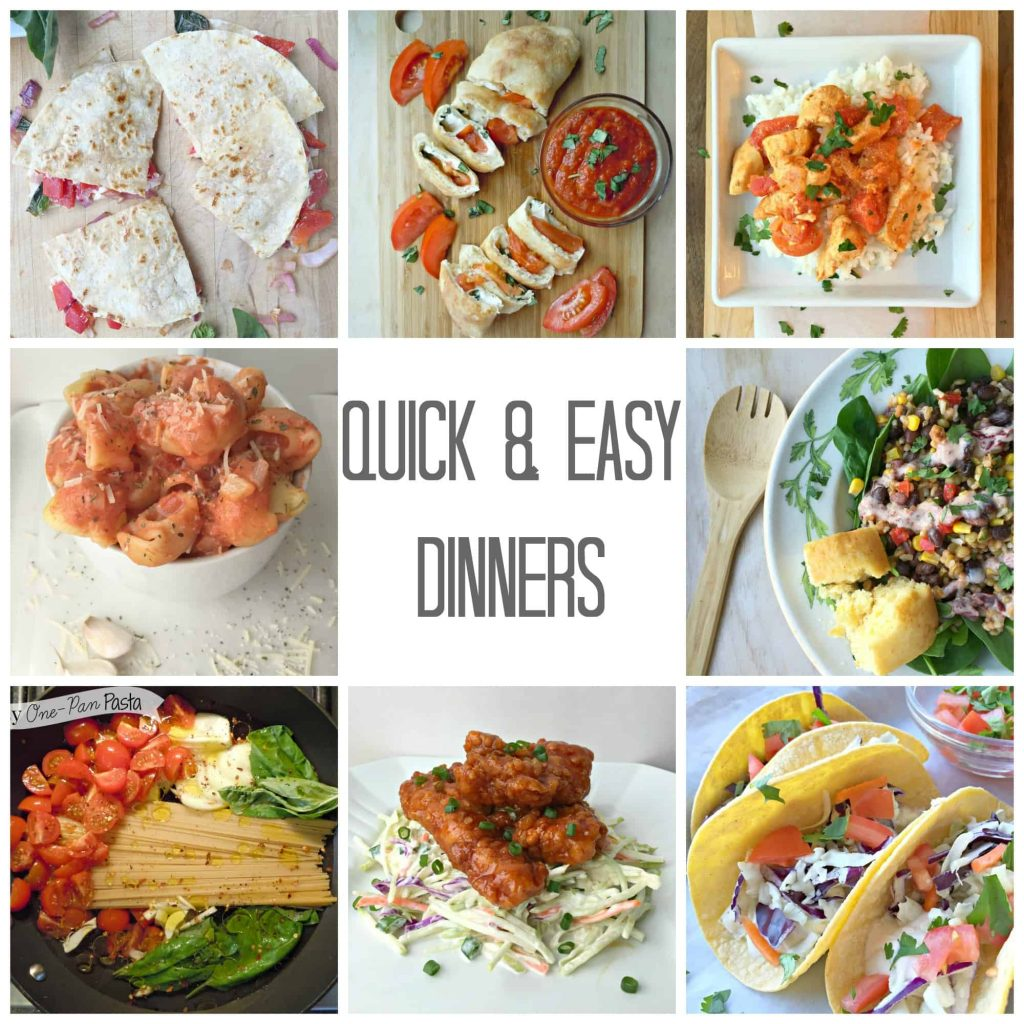 Quick easy summer dinners life a little brighter for Quick easy food to make for dinner