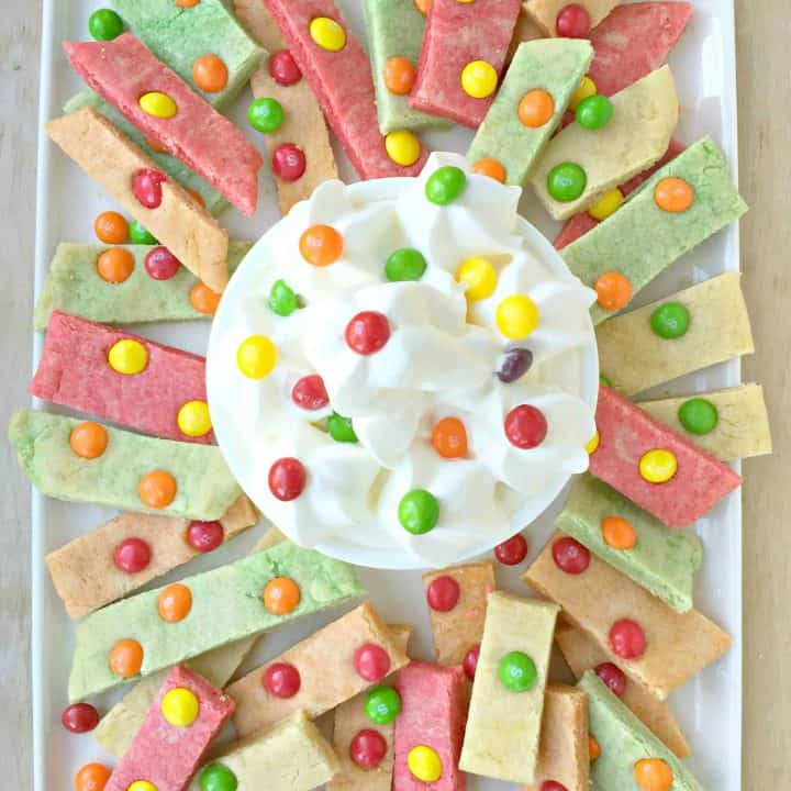 Skittles Cookie Bars