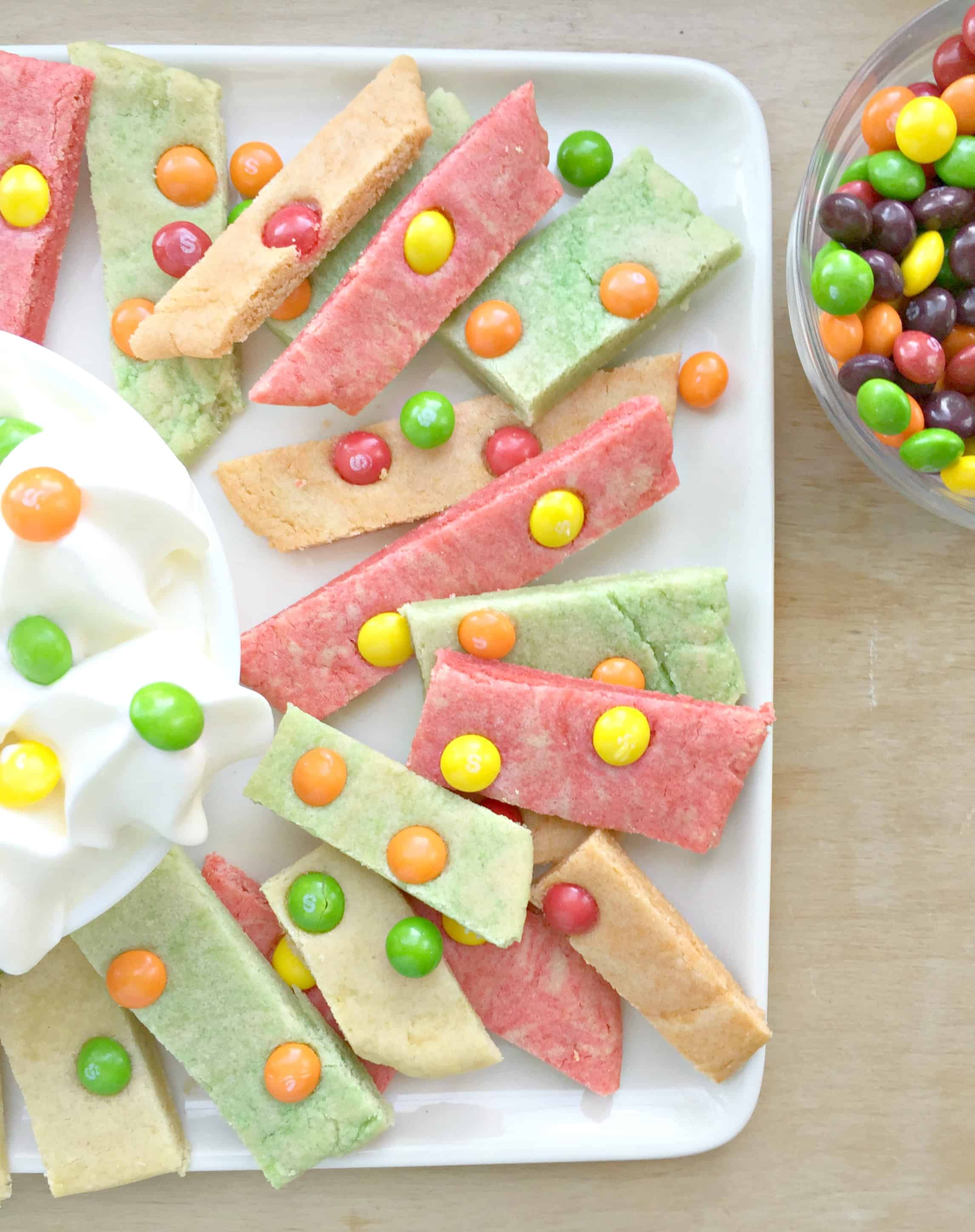 Skittles® Cookie Bars