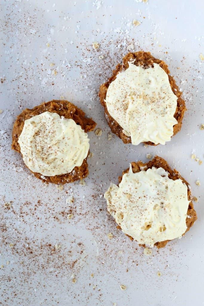 3 Ingredient Soft Pumpkin Cookies
