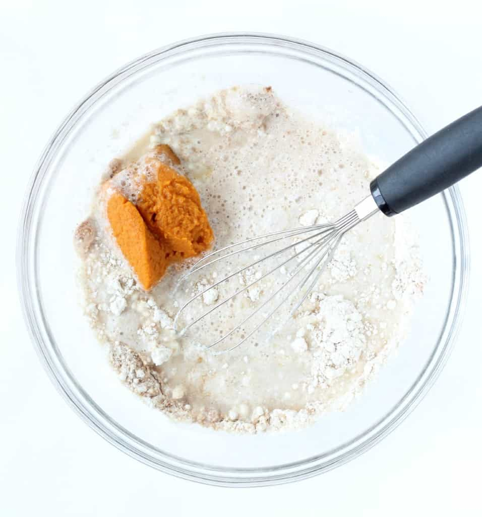 Protein-Packed Pumpkin Pancakes-4