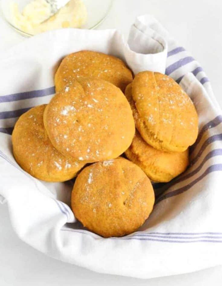 Bisquick Pumpkin Biscuits