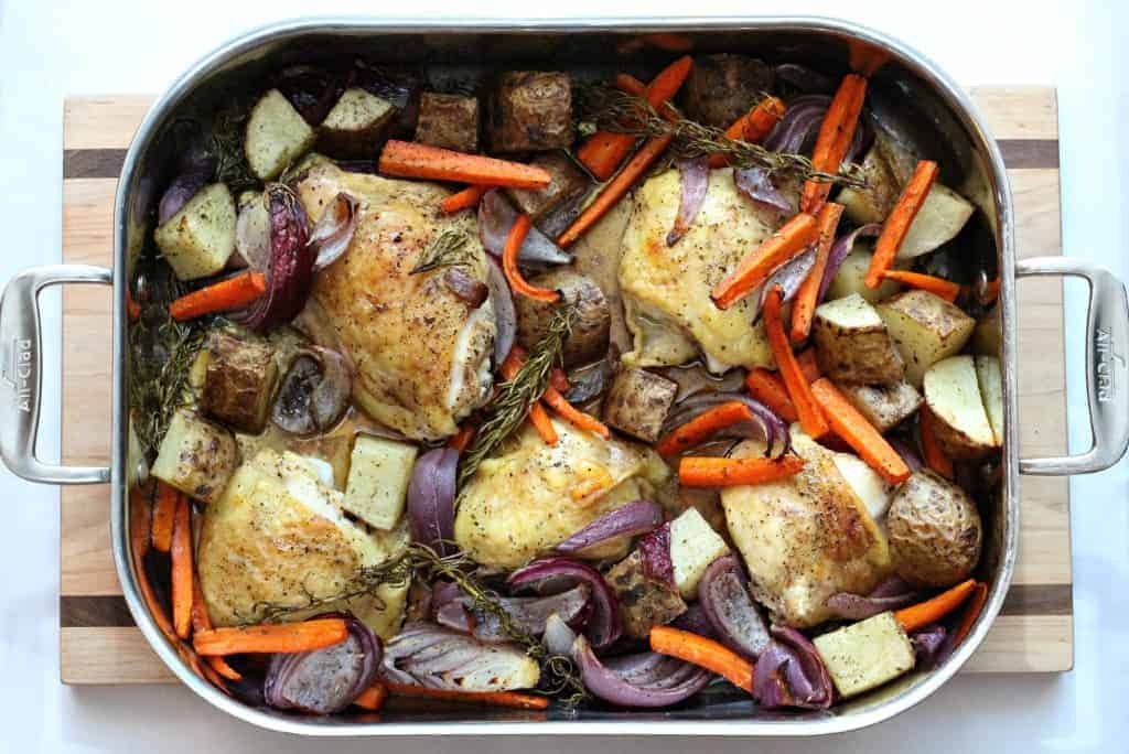 ... is Alison, I am a food blogger, and I've never roasted a chicken