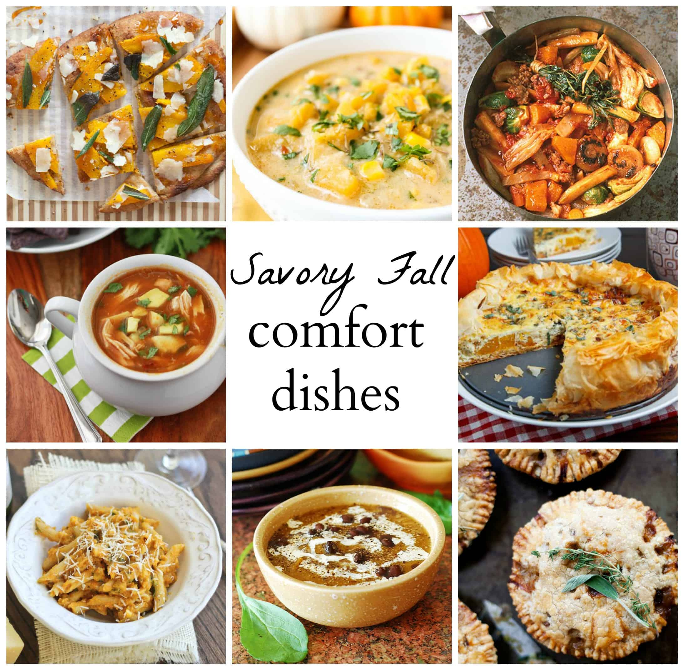 Savory Fall Pumpkin Dishes