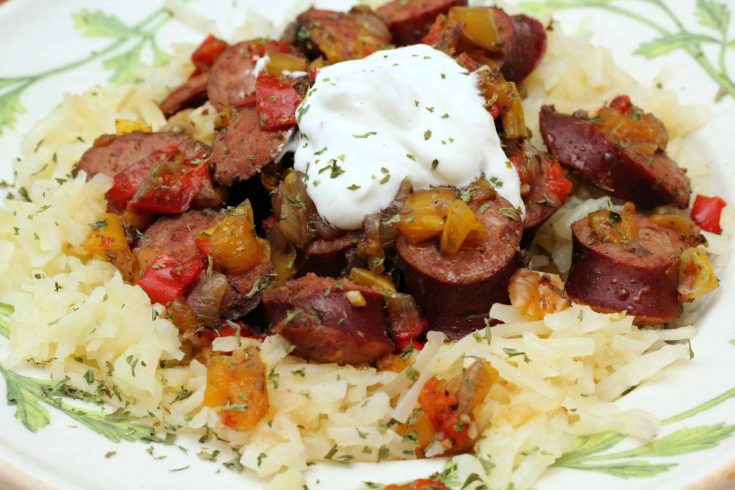 Oktoberfest Kielbasa Slow Cooker Recipe
