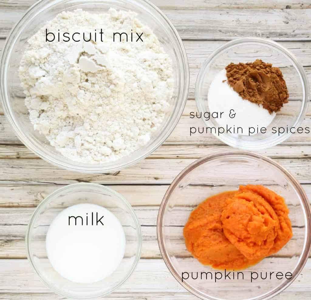honey butter pumpkin biscuits ingredients