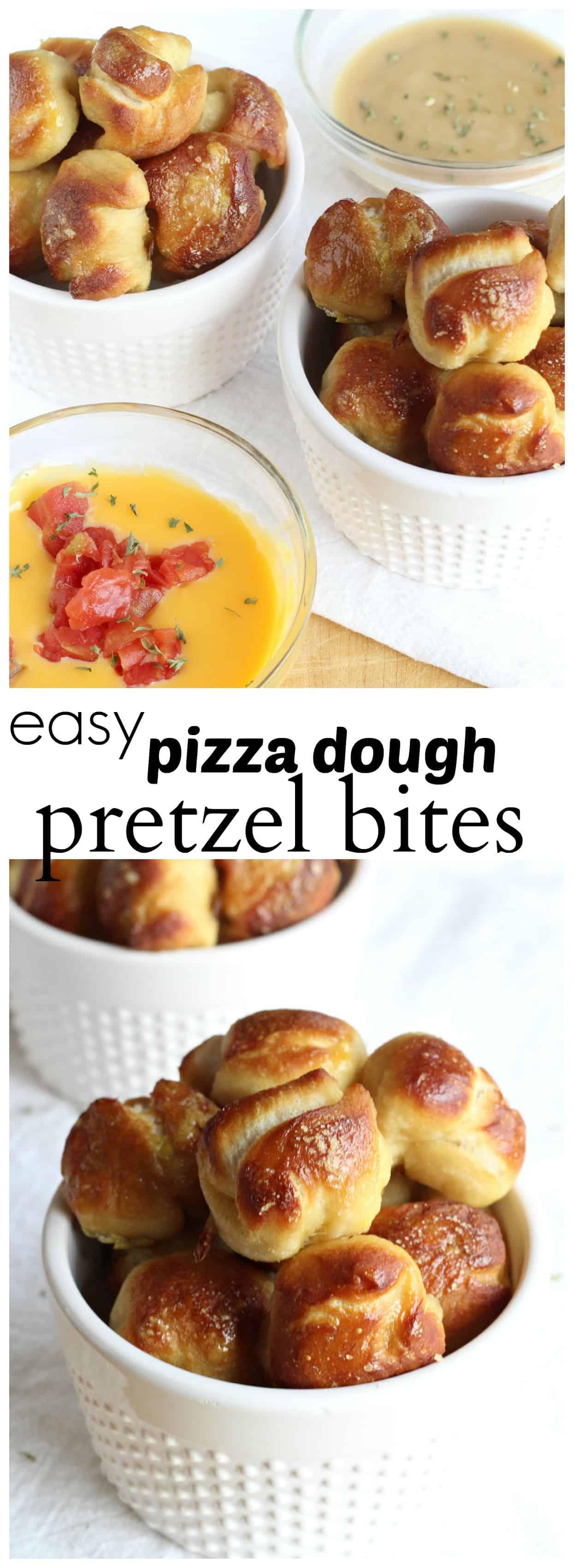 Pizza Dough Pretzel Bites Delicious Made Easy