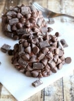 Decadent Chocolate Chunk Mini-Cakes