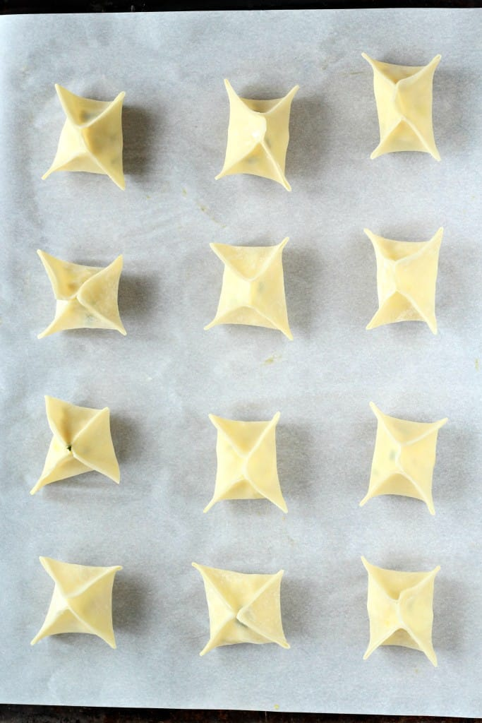 easy baked wontons