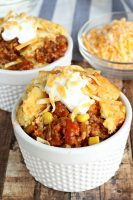 Cornbread Topped Slow Cooker Chili