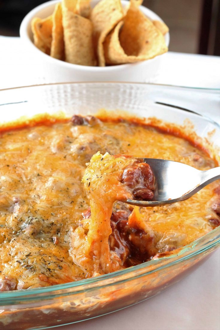 Easy Chili Cheese Dip