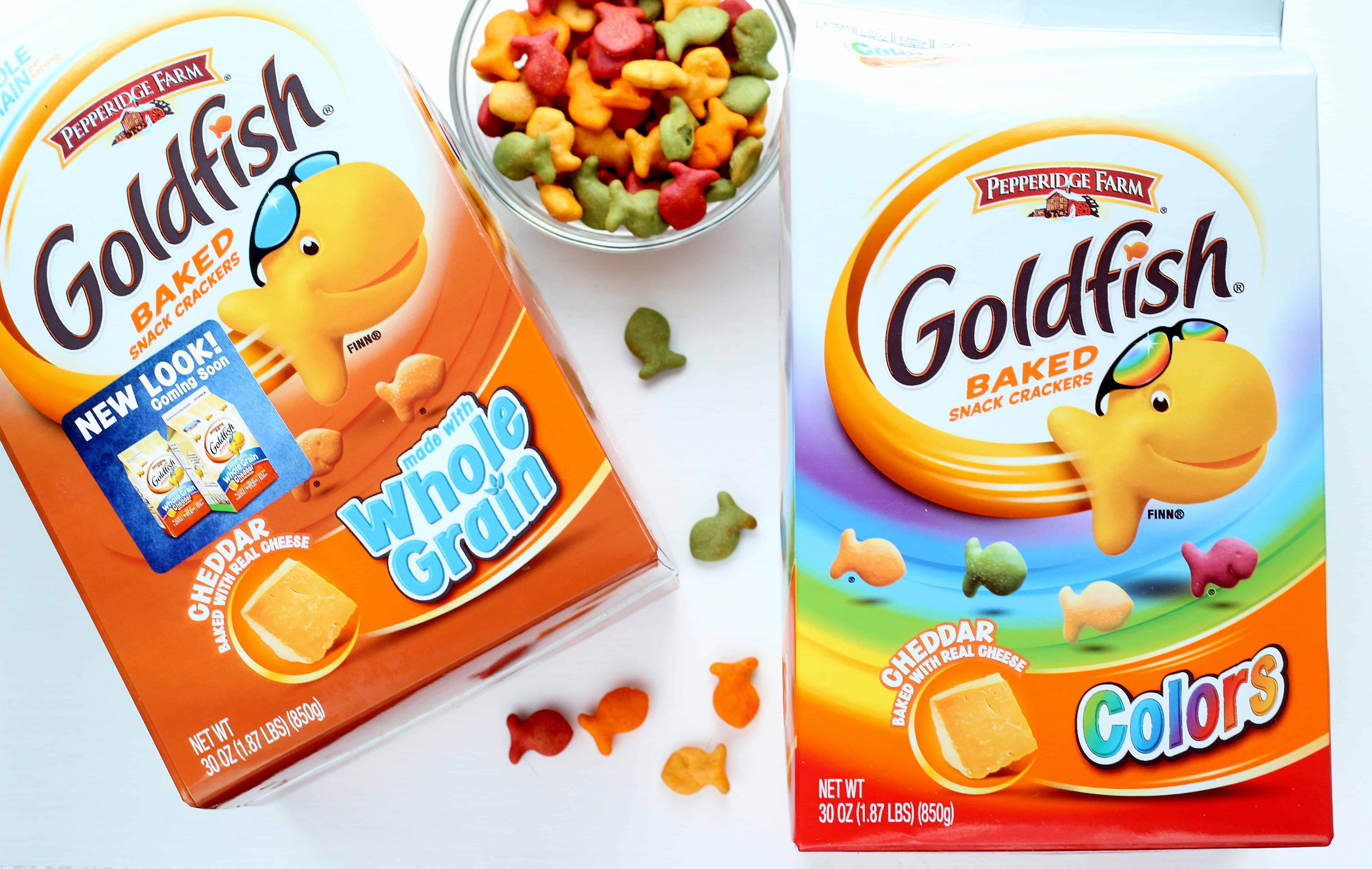 Easy goldfish crackers snack life a little brighter for Gold fish snacks