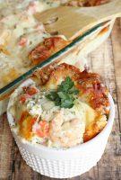 Shrimp Scampi Seafood Lasagna