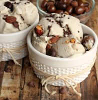 DOVE® Chocolate Fruit & Nut {No-Churn} Ice Cream
