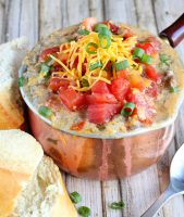 Fiesta Cheeseburger Soup