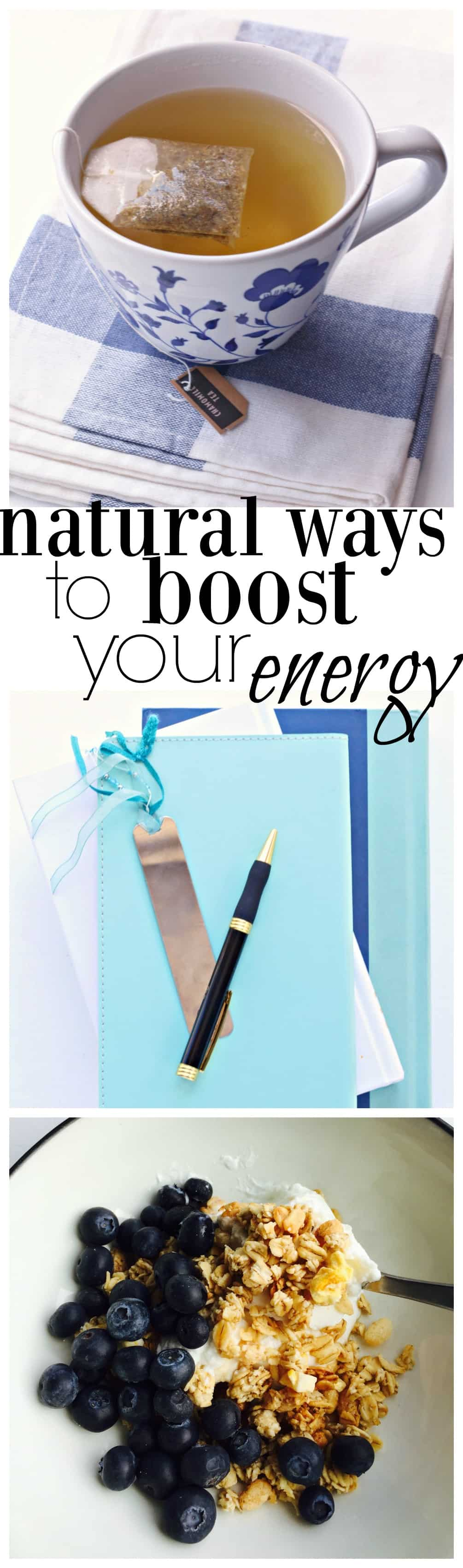 how to get a boost of energy naturally