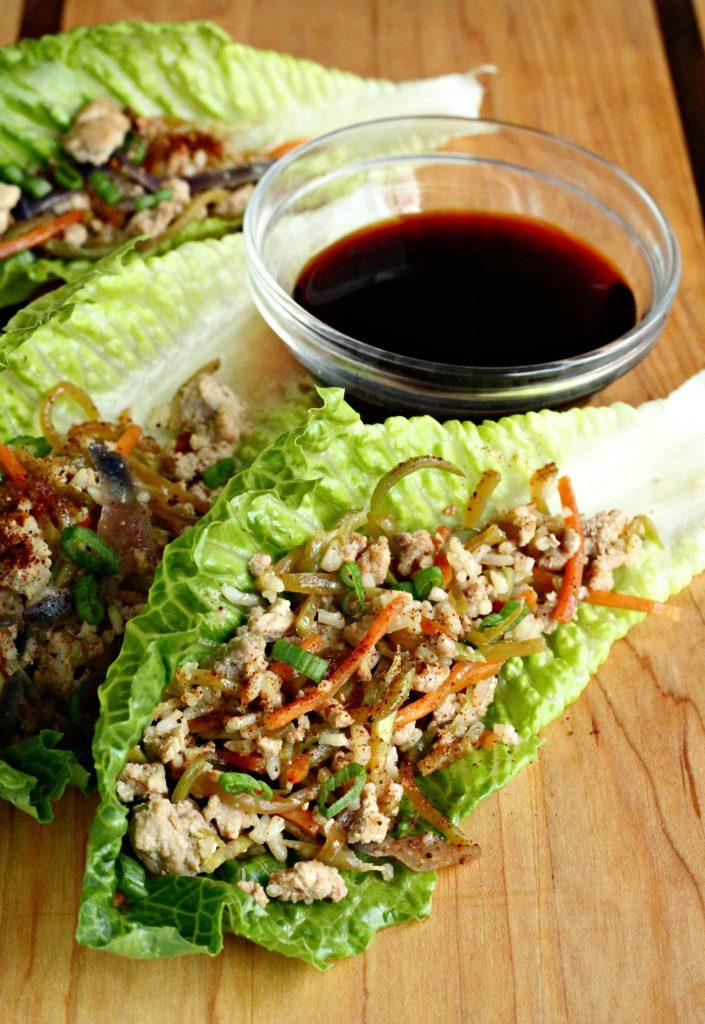 egg roll lettuce wraps