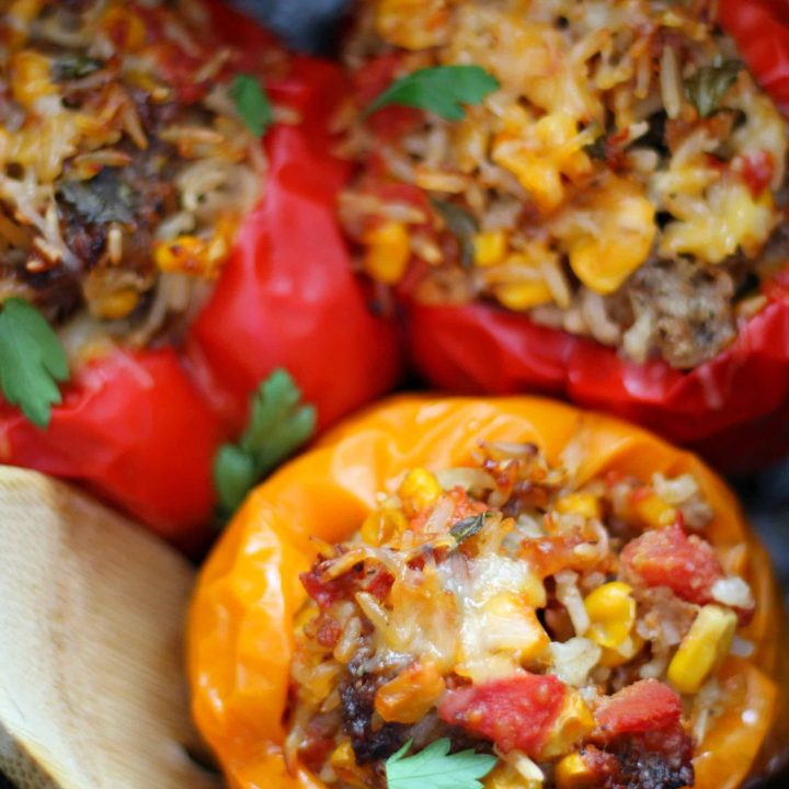 Jimmy Dean Stuffed Peppers