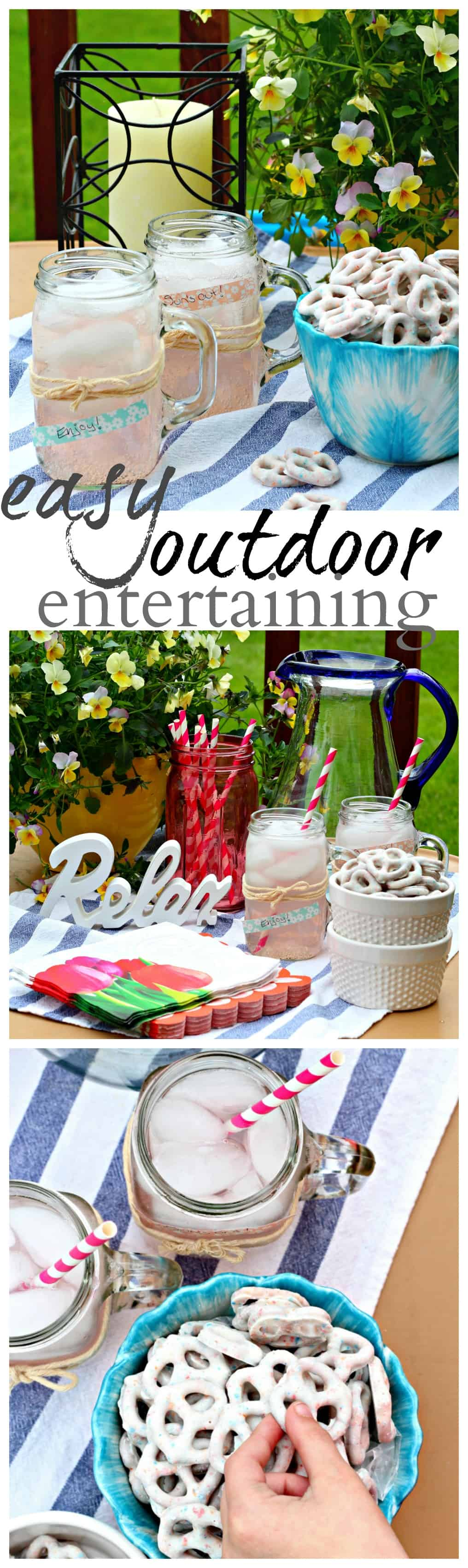 Entertaining Tips Fair Easy Outdoor Entertaining Tips With Flipz®  Life A Little Brighter Review