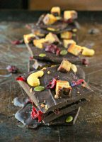 Antioxidant Dark Chocolate Bark