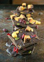 Antioxidant Dark Chocolate Bark