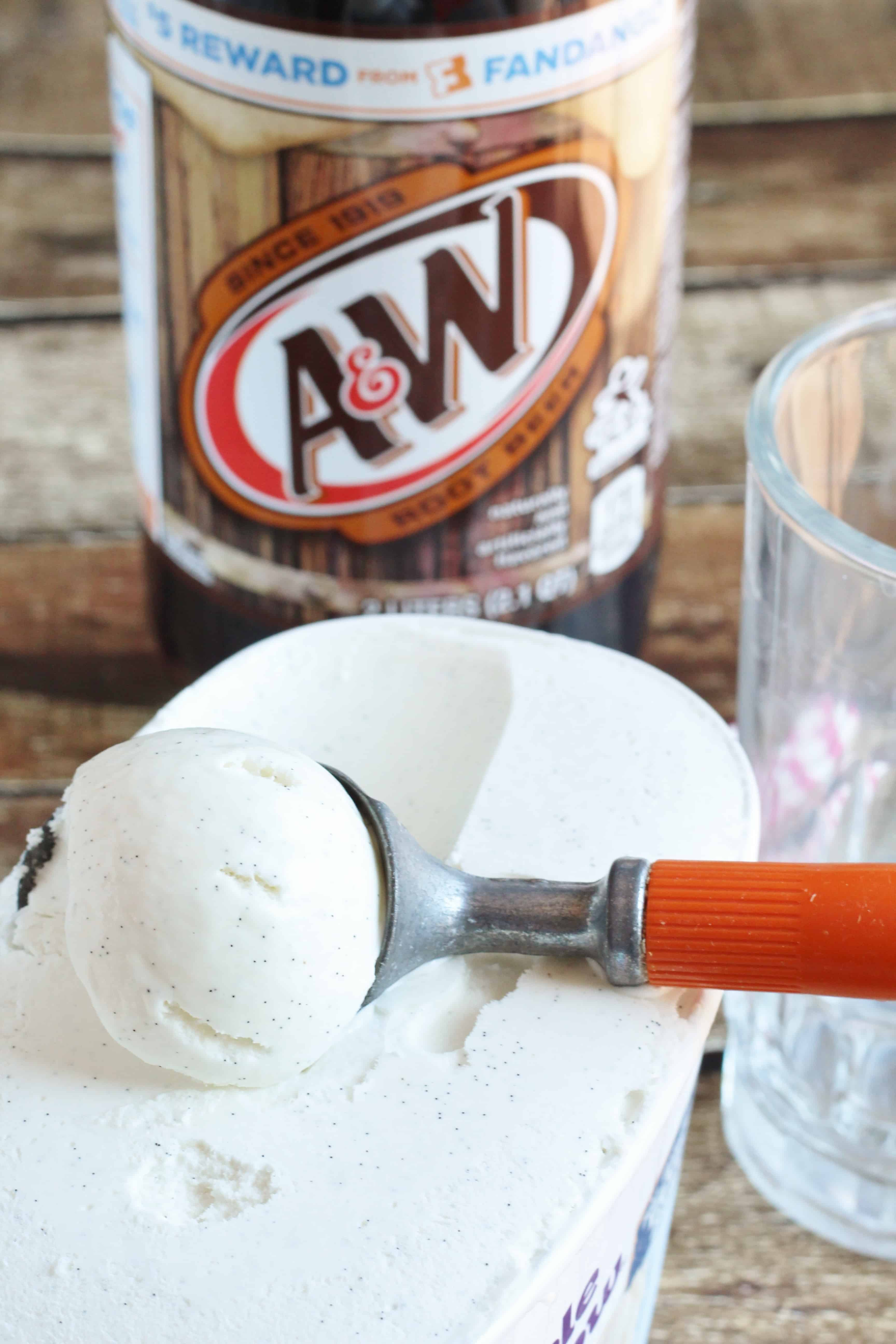 Chocolate-Covered Cherry A&W® Root Beer Float