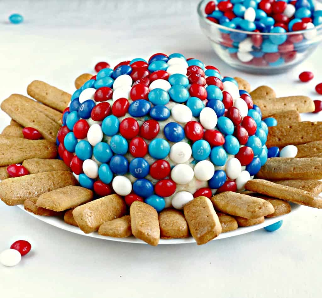 Skittles Cream Cheese Ball
