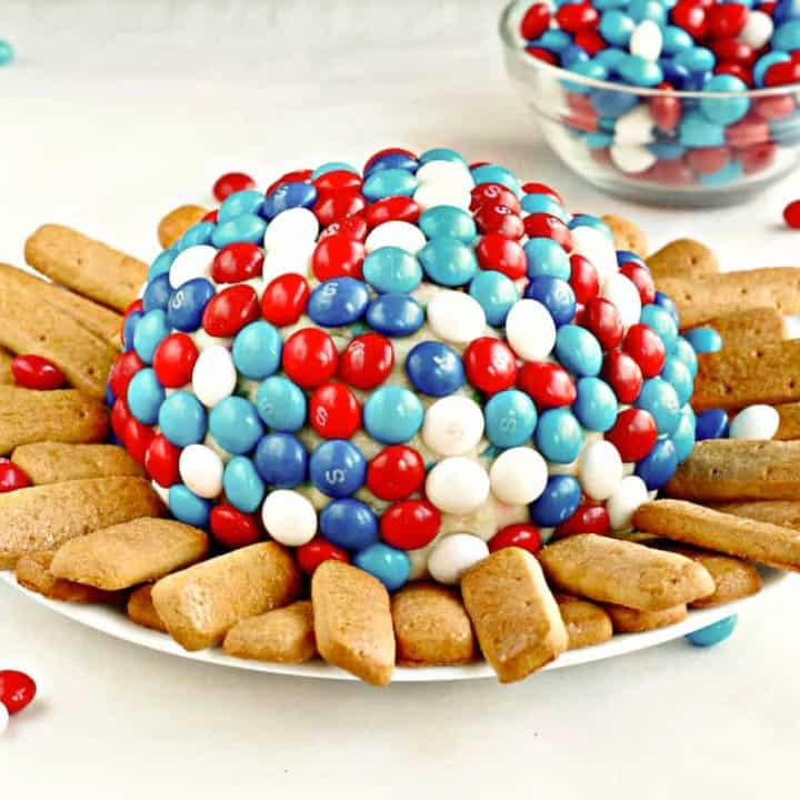 Easy Fourth of July Recipe: Skittles Cheese Ball