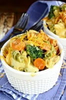 Cheesy Chicken Rotel Pasta