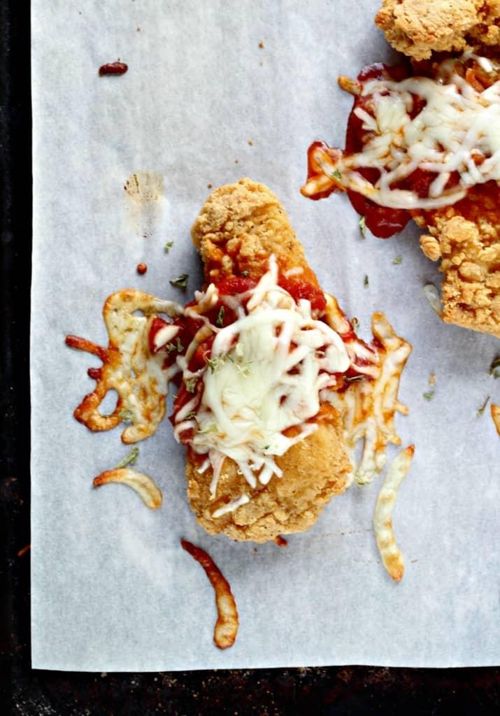 4 ingredient chicken parmesan