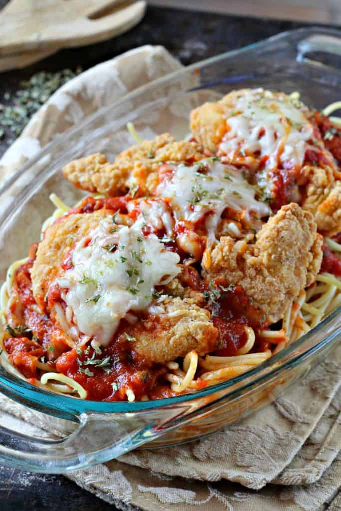4 ingredient chicken parmesan