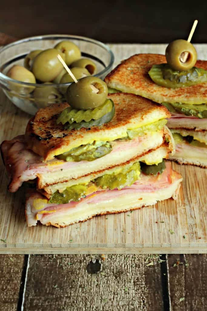 cuban style grilled cheese