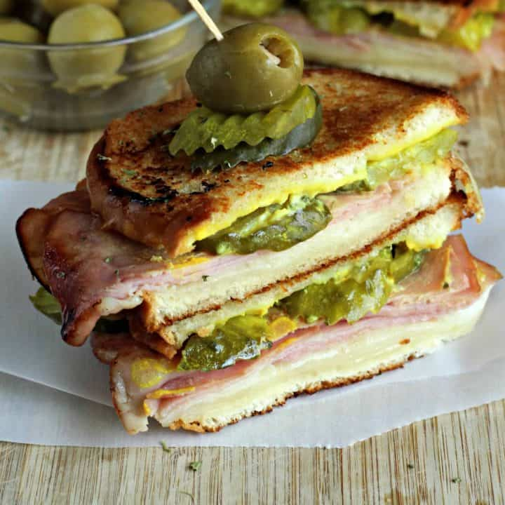 Cuban-Style Grilled Cheese