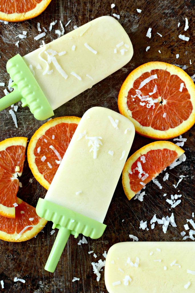 Orange Cream Popsicles