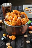 Halloween Candy Popcorn Mix