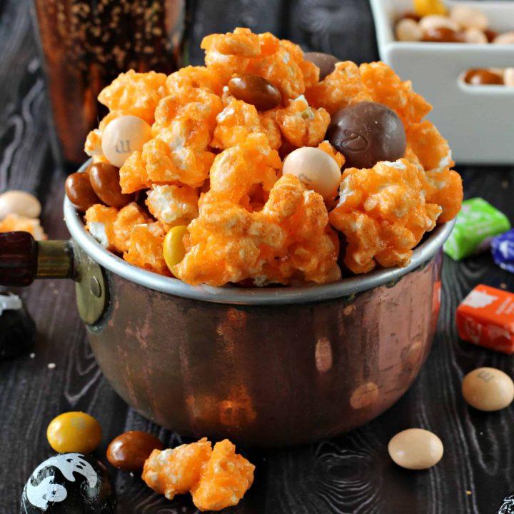 Halloween Popcorn Mix