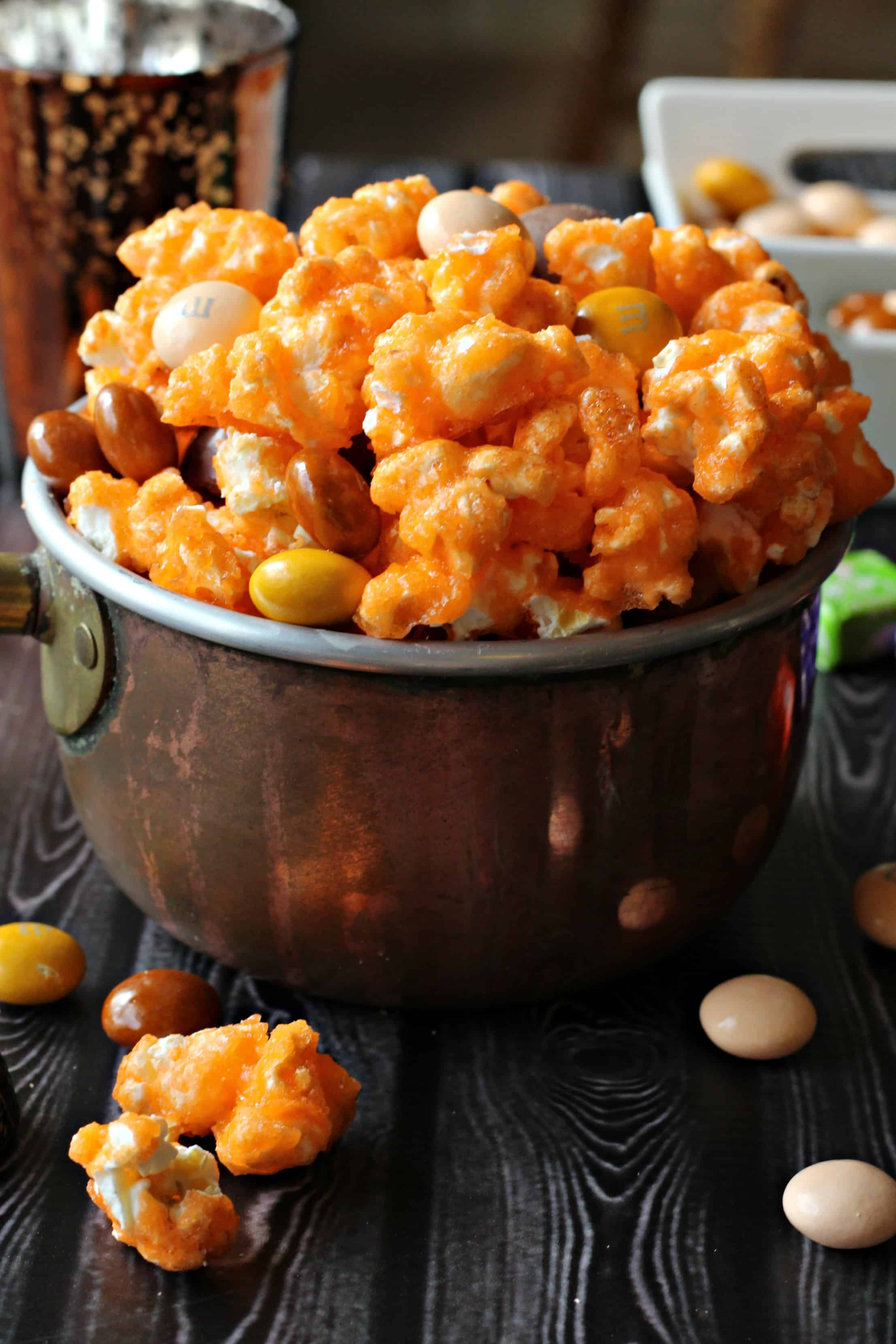 Halloween Candy Popcorn Mix Life A Little Brighter