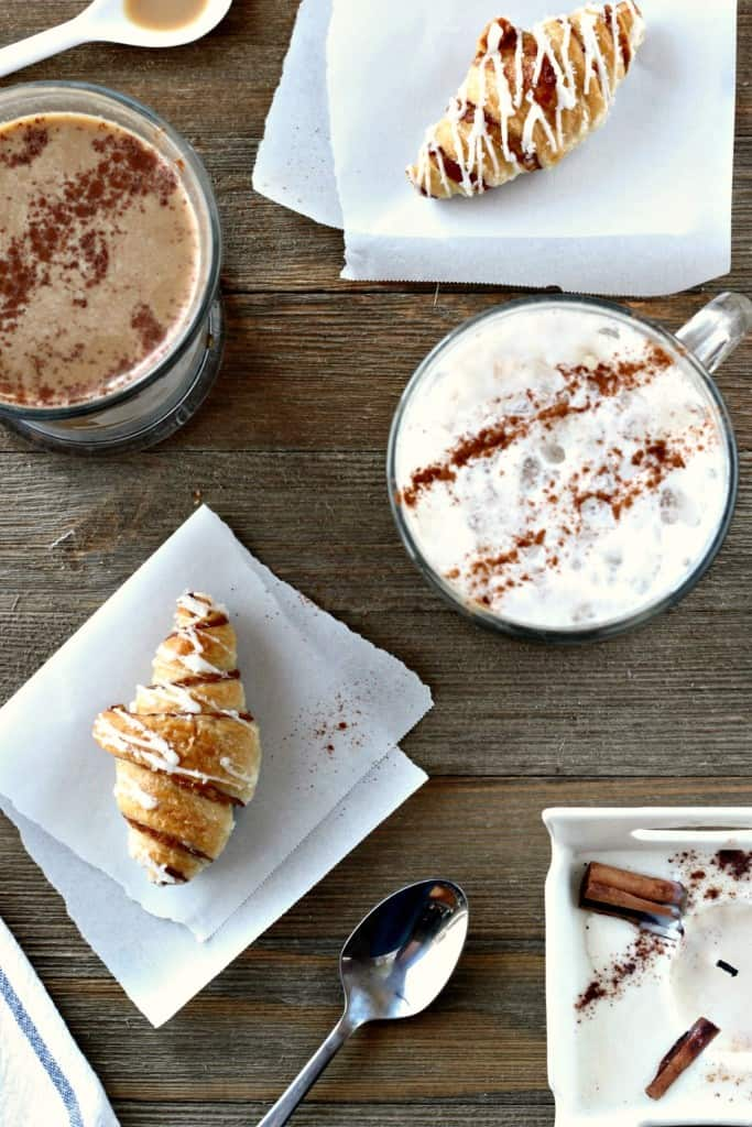 cinnamon spice latte