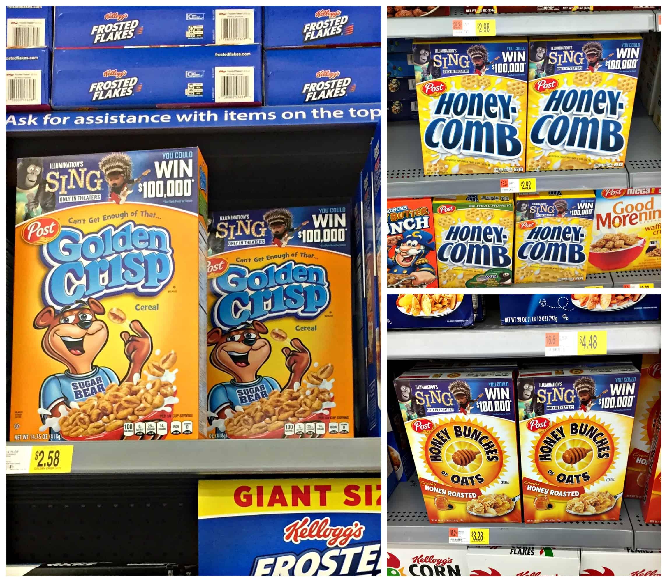Easy Golden Crisps Cereal Snack Bars