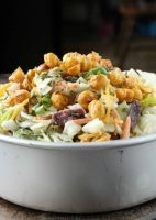 Southwest Salad w. Roasted Chick Peas